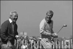 Arnold Palmer & Curtis Strange playing St Andrews Old Course 1990.  Golf Phuket.. www.phuketgolfleisure.com