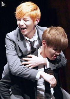 Taehyung and Hoseok