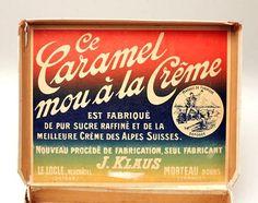 Chocolat KLAUS  - www.cyan74.com - vintage & pop culture | SOLD