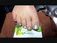 CND Shellac Swarovski Toes - YouTube This would be really cool to do, but I don't know about every toe.