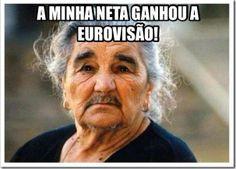"""""""A Padrada do Dia"""" Orgulho d'Avó #Eurovisao #Conchita by Os Magos do Bairro Social"""