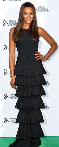 Naomi Campbell: Novak Djokovic Foundation London Gala Dinner