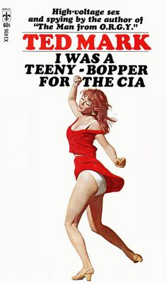 Because the CIA has great need of a teeny boppers. Especially if they are on assignment with The Man from O.R.G.Y.