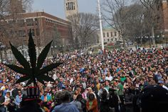 Holiday in Ann Arbor - Annual Hash Bash on the Diag