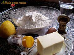 Alicia y sus recetas: MASA QUEBRADA