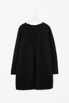 COS | Open-front wool cardigan