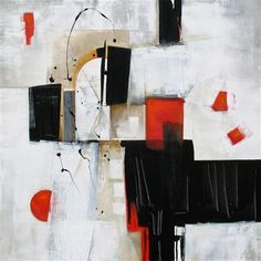 Original art for sale at UGallery.com | Bold Graphic IV by Karen Hale | $1,800 | acrylic painting | 30 h x 30 w | http://www.ugallery.com/acrylic-painting-bold-graphic-iv