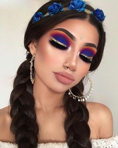 Exceptional Gorgeous makeup tips are available on our site. Glam Makeup, Cute Makeup, Pretty Makeup, Makeup Inspo, Eyeshadow Makeup, Makeup Inspiration, Hair Makeup, Eyeshadows, Gorgeous Makeup
