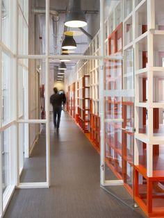 Sterk Werk Communication Group Office by SchilderScholte Architects, Rotterdam » Retail Design Blog