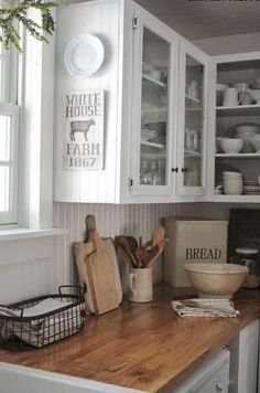 Modern Farmhouse Kitchen Cabinet Makeover Design Ideas