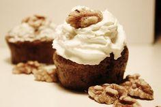 muffin banana con gocce di cioccolato