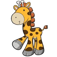 cartoon giraffe clipart giraffe elephant clip art pinterest rh pinterest com cartoon giraffe clipart free cartoon giraffe clipart