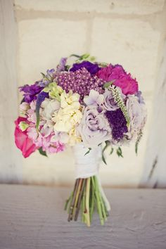 another pic of my bouquet, purple