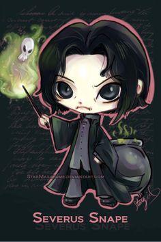 Severus Snape by StarMasayume.deviantart.com on @deviantART