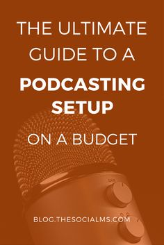 Ok, so you want to try podcasting? Great, it's fun. It's also expensive - at least if you follow the guides on the web. Secret: All the guides are wrong. podcasting tips, how to start a podcast, podcasting setup, podcast tips
