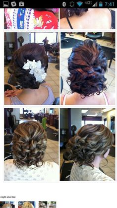 OMG! That is exactly how I want my hair at my wedding..but with little daisies or babies breath entwined in it!