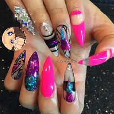 #ShareIG Pinks, & Foils, Swarovskis Oh My...