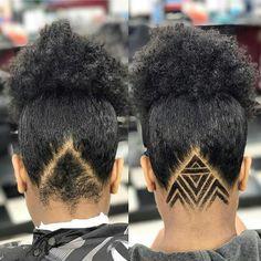 Undercut for dreads Undercut Hair Designs, Undercut Women, Undercut Hairstyles, Updo Hairstyle, Undercut Natural Hair, Shaved Undercut, Curly Hair Styles, Natural Hair Styles, Shaved Hair Designs