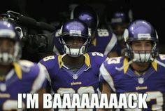 Hes baaack!