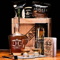 Website Description: 'The Whiskey Connoisseur Crate is the subtle touch that fans the warm whiskey burn into a full-fledged flavor frenzy.'