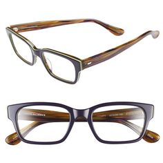 Corinne McCormack 'Sydney' 54mm Reading Glasses ($68) ❤ liked on Polyvore featuring accessories, eyewear, eyeglasses, glasses, acetate glasses, lens glasses, lightweight reading glasses, lightweight eyeglasses and corinne mccormack