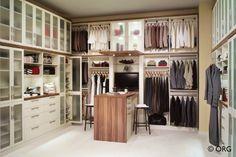 Organized Master Bedroom Closet 2