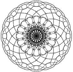 Mandala colorier mandala rond 12 mandala gratuit - Jeu a imprimer pour adulte gratuit ...