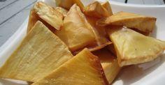 fried Bread Fruit and tons of other Guyanese recipes. Gourmet Recipes, Vegan Recipes, Snack Recipes, Vegan Food, Easy Recipes, Snacks, Barbados, Jamaica, Breadfruit Recipes