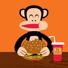 Paul Frank - Julius Likes Hamburgers