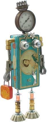 I 1st saw Amy's Fobots @ St. Louis Art Show..I love them!!!!