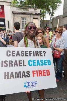 Israel ceased............hamas fired