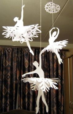 Ballet Snow Craft... SO Pretty!