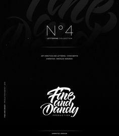 Selection of lettering logos made during 2015. Art direction and lettering : Vivien BertinAnimation : Yaroslav Kononov