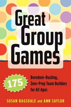 Great Group Games offers 175 enjoyable games and activities that will gently disband group-busting cliques, help newcomers feel welcome, and turn your participants into friends who can count on each other. Authors Ragsdale and Saylor, experienced trainers and youth development leaders, have compiled games that are perfect for classrooms, retreats, workshops, and groups on the go. Each game includes details on timing, supplies, set up, suggested group size, game tips, and reflection…