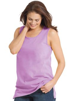 Top, Perfect tank top | Plus Size Tops & Tees | Woman Within