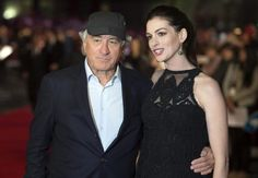 "Alt=Robert De Niro y Anne Hathaway protagonizan ""The Intern"". EFE/EPA/Will Oliver"