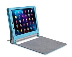 Fitian New Luxury Ultra Slim Magnetic Sleep/Wake Silk Grain Folio Stand Leather Cover Protective Case for 10 Inch Lenovo Yoga Tablet 2-1050F (Blue) Fitian http://www.amazon.com/dp/B00P3IQ14S/ref=cm_sw_r_pi_dp_gdoEvb1EFM7PT