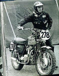 Steve McQueen & Triumph Scrambler
