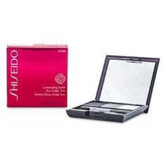 Shiseido Luminizing Satin Eye Color Trio - # GY901 Snow Shadow