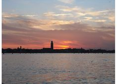 Sunset over Venezia
