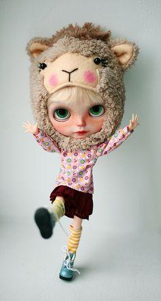 #blythe model #custom doll #lovely outfit