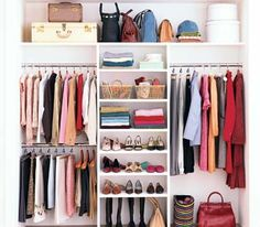 This would work perfectly in Alex & Danielle's closets. Now to find a way to do it on a budget.