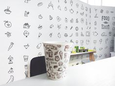 I immediately liked the idea of wall paint, but how? At first didn't understand, but then found references such wonderful simple icons. Moved specialities on the wall in the Office. All сщддупгуы are very happy with this idea. #gladmade #paper #diy #cool #decoration #sillin #green #3d #cube #awesome #idea #white #super #try #kristinalenchuk