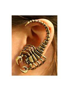 Scorpion Wrap - left ear.