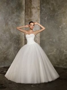 Cheap dress tissue, Buy Quality gowns for big women directly from China gown evening Suppliers: Romantic 2016 New Sexy Sweetheart White Ivory Beaded Tulle Ball Gown Wedding Dress Bridal Gowns vestido de noiva robe de mariage Princess Ball Gowns, Princess Wedding Dresses, White Wedding Dresses, Cheap Wedding Dress, Bridal Dresses, Wedding Gowns, Tulle Wedding, Ballroom Wedding, Ivory Wedding