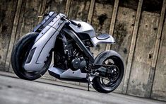 K-Speed Honda Bros 400 Futuristic Cafe Racer / Streetfighter build.