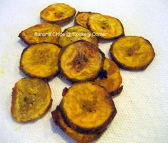 Cookery Corner: Baked Plantain Chips