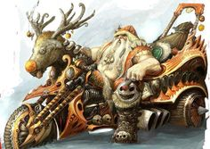 I dont recognize christmas!!! * I'm NOT a big fan of santas,..BIKER or otherwise!!! * However,..I DO TOTALLY LOVE The Woman That Blessed Me With This Image,Though!!! <3 <3 <3   IMAGE RESOURCE: Selina Dawn Kyle
