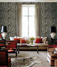 wallpaper, interior design, decoration, roberto cavalli