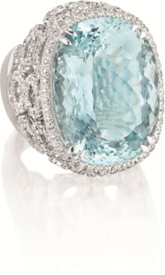 PHILLIPS : NY060211, Margherita Burgener, An Aquamarine and Diamond Ring